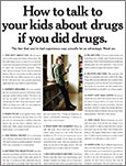 How to talk to your kids about drugs if you did drugs
